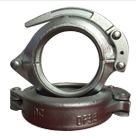 5.5 inch Forged concrete pump pipe quick clamps