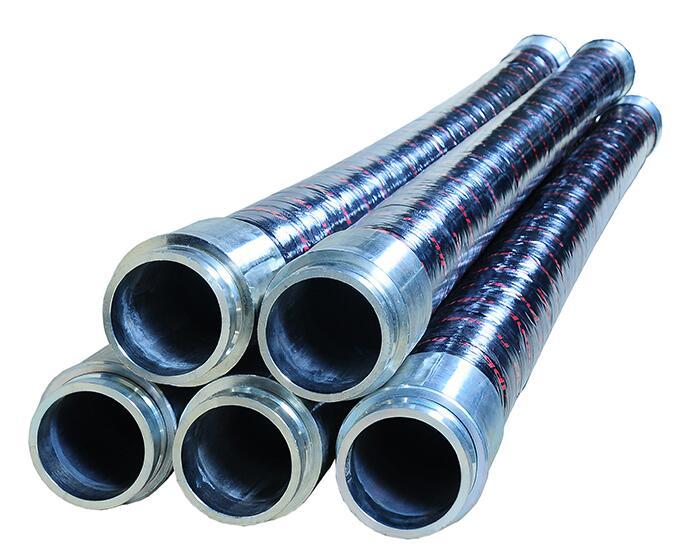 Concrete pump rubber hose 5 inch 125mm
